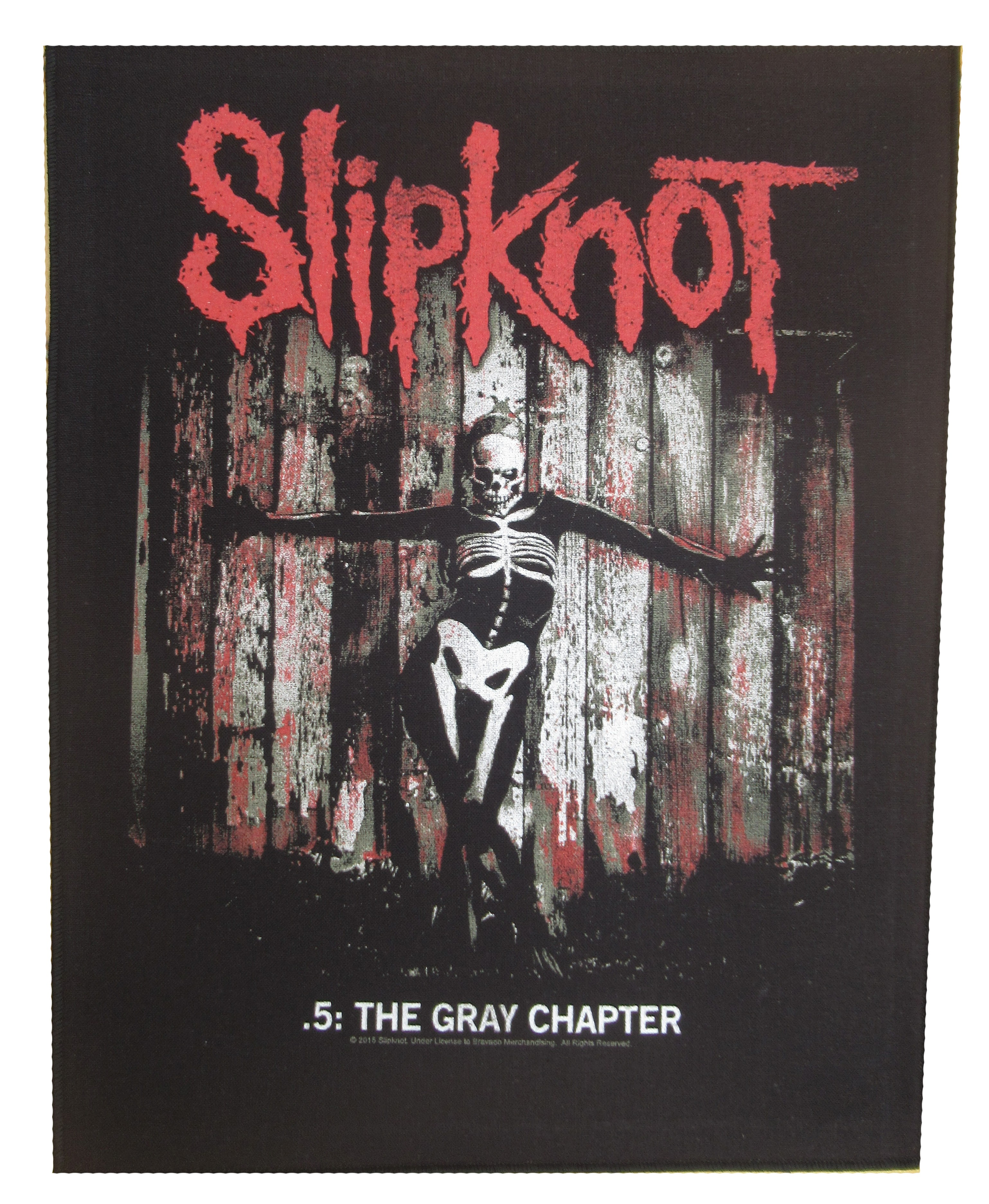 NagaPatches Slipknot patche dorsal dossard grande taille