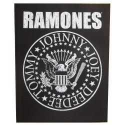 The Ramones dossard patch dorsal