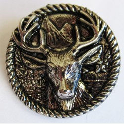 Deer broche badge pins en métal coulé