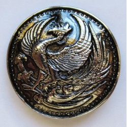Tête de mort broche badge pins en métal coulé