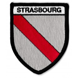 Patche écusson thermocollant Strasbourg