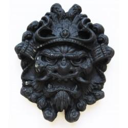 Masque Chinois broche badge pins en métal coulé