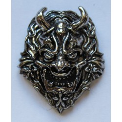 Satan Devil cast metal badge