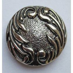 Waves cast metal badge
