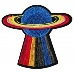 Iron-on Patch Planet Saturn