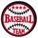 Iron-on Patch Baseball Team