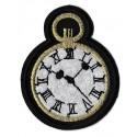 Iron-on Patch Clock