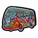 Iron-on Patch hippy combo minivan