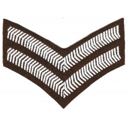Iron-on Patch US army rank
