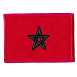 Iron-on Patch Morocco