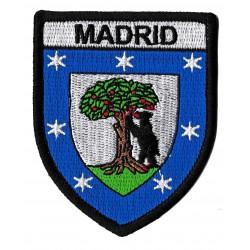 Aufnäher Patch Bügelbild Madrid