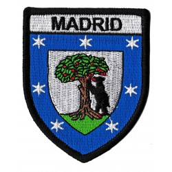 Iron-on Patch Madrid