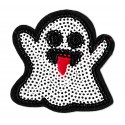 Iron-on Patch sequins halloween ghost