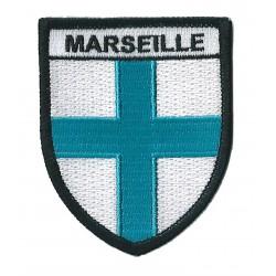 Patche écusson thermocollant Marseille massilia