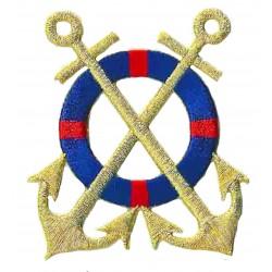 Iron-on Patch Marine anchor