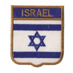Patche écusson drapeau Israël