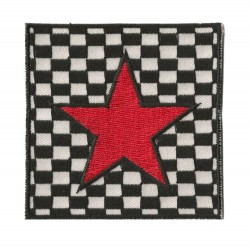 Patche écusson thermocollant Red Star Ska