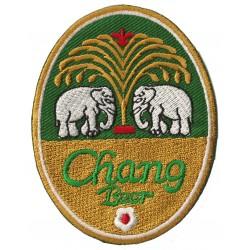 Patche écusson thermocollant Bière Bia Chang