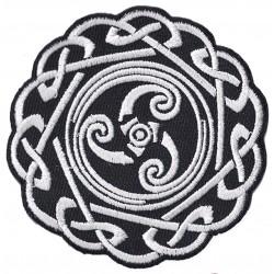 Patche écusson thermocollant Symbole Celte