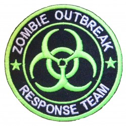 Patche écusson thermocollant Zombie Outbreak