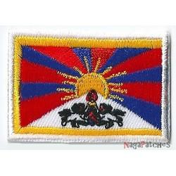 Patche écusson petit drapeau Tibet