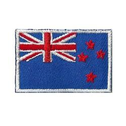 Parche bandera pequeño termoadhesivo