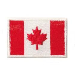 Patche écusson petit drapeau Canada