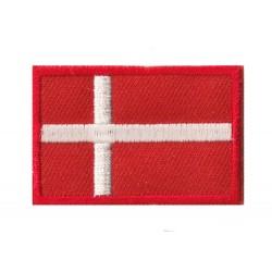 Patche écusson petit drapeau Danemark