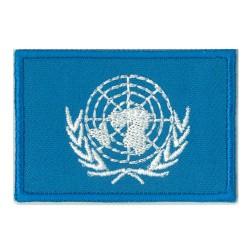 Patche écusson petit drapeau Nations Unies ONU