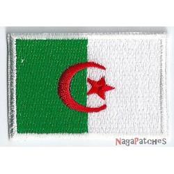 Patche écusson petit drapeau Algérie