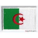 Iron-on Flag Small Patch Algeria