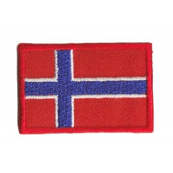 Patche écusson petit drapeau Norvège
