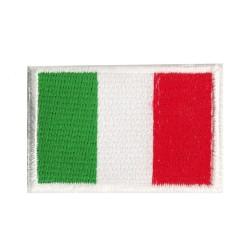 Patche écusson petit drapeau Italie