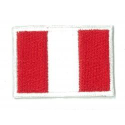 Patche écusson petit drapeau Pérou