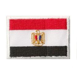 Toppa  bandiera piccolo termoadesiva Egitto