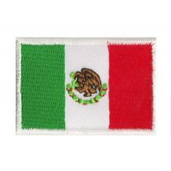 Patche écusson petit drapeau Mexique
