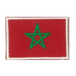 Patche écusson petit drapeau Maroc