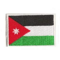Patche écusson petit drapeau Jordanie