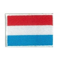 Patche écusson petit drapeau Luxembourg