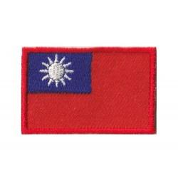 Patche écusson petit drapeau Taïwan