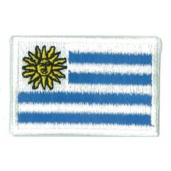 Patche écusson petit drapeau Uruguay