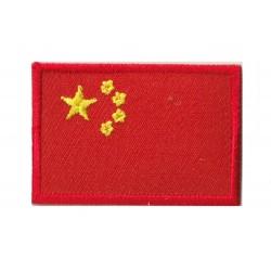 Patche écusson petit drapeau Chine