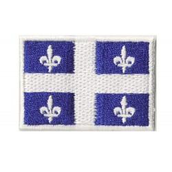 Patche écusson petit drapeau Québec