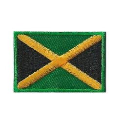 Patche écusson petit drapeau