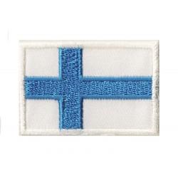 Patche écusson petit drapeau finlande