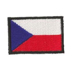Patche écusson petit drapeau Rép. Tchèque