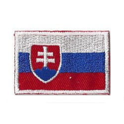 Iron-on Flag Small Patch Slovakia