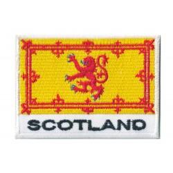 Patche écusson drapeau Écosse