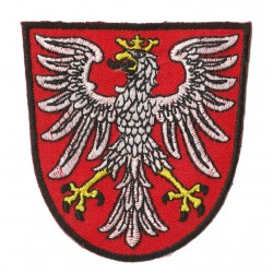 Patche écusson thermocollant blason armoirie POLOGNE