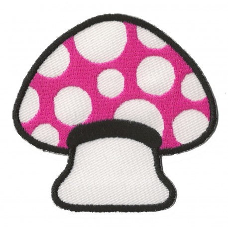 Aufnäher Patch Bügelbild Pilze